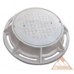 Nắp hố ga Composite Khung tròn - Nắp tròn